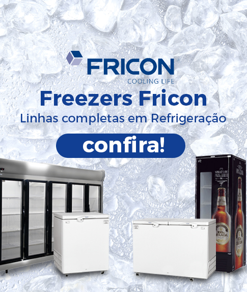 Freezers Fricon - Linhas completas em refrigeração