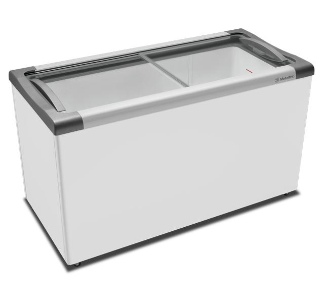 Expositor Sorvetes Congelados Horizontal 491 Litros NF55 Metalfrio