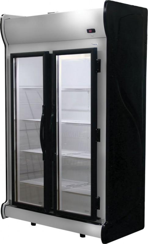 Expositor Vertical 2 Portas INOX ACFM 1000 Fricon