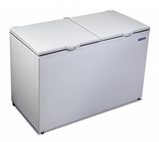 Freezer Dupla Ação Conservador congelador Refrigerador 2 tampas DA420 Metalfrio
