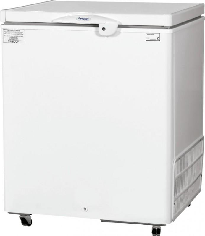 Freezer Horizontal Fricon 216L HCED 216 C Dupla Ação Tampa Cega
