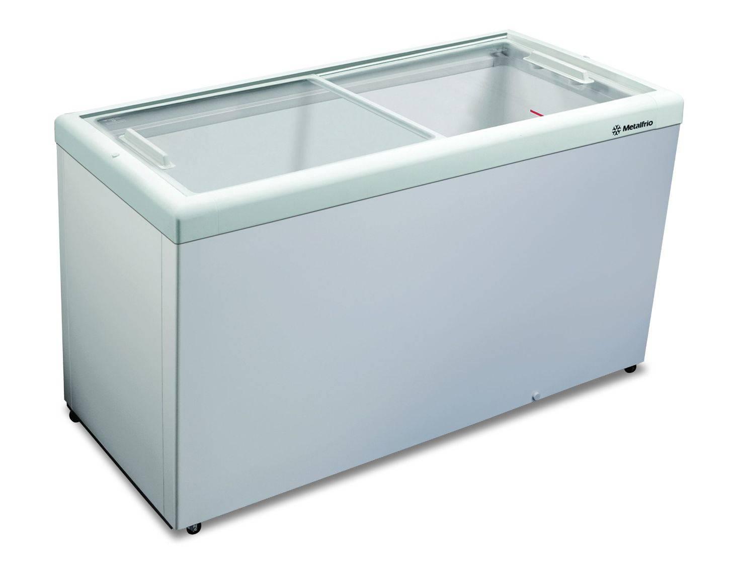 Expositor Sorvetes Congelados Horizontal HF55l Metalfrio