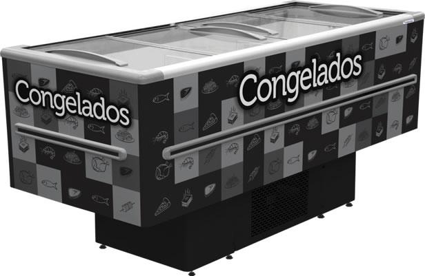 Conservador / Refrigerador Ilha 568L ICED 568 V - Fricon