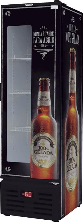 Cervejeira Vertical 284L VCFC 284 D c/ Visor - Fricon