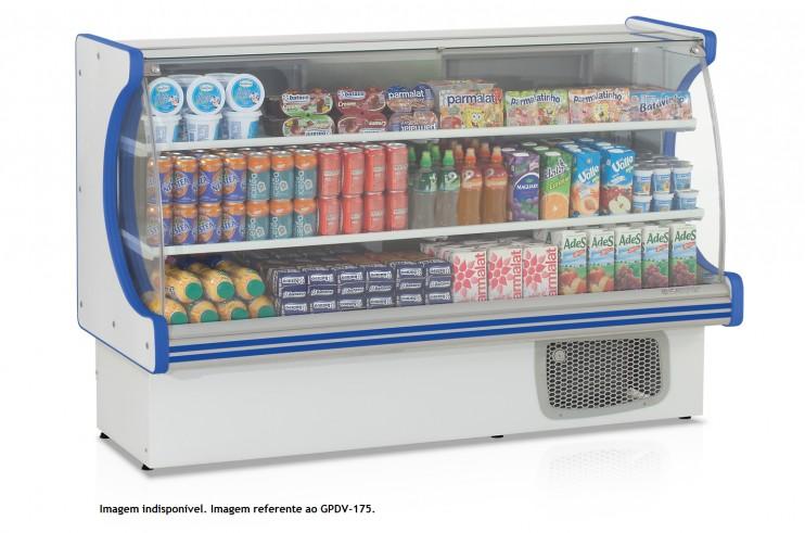 Balcão Frigorifico Expositor vitalis GPDV 110 Gelopar