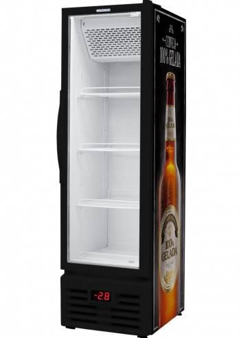 Refrigerador Expositor Cervejeira slim Porta de Vidro VCFC 284v Fricon