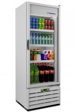 Refrigerador Vertical Metalfrio VB40RE 406 Litros