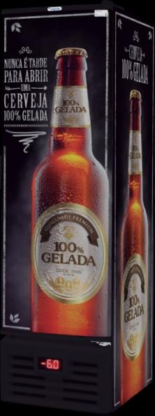 Cervejeira FRICON Conservador Vertical de Cervejas 284L - VCFC 284C