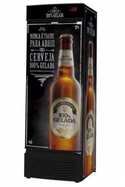 Refrigerador Cervejeiro Véu de noiva Porta Cega VCFC 431c Fricon
