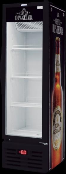 Conservador Cervejeira Vertical Fricon de 284L com Porta de Vidro -  VCFC 284 V